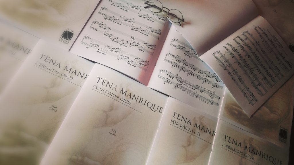 Abraham Tena Manrique publishes in Da Vinci Edition (Osaka) his works for solo piano